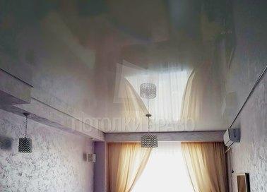 Глянцевый зеркальный натяжной потолок НП-178 - фото 2