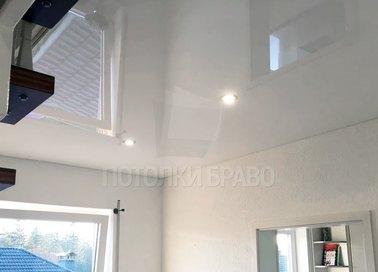 Глянцевый зеркальный натяжной потолок НП-216 - фото 2