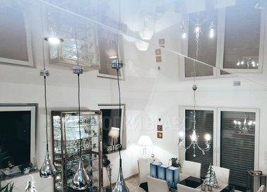 Зеркальный глянцевый натяжной потолок для дома НП-218