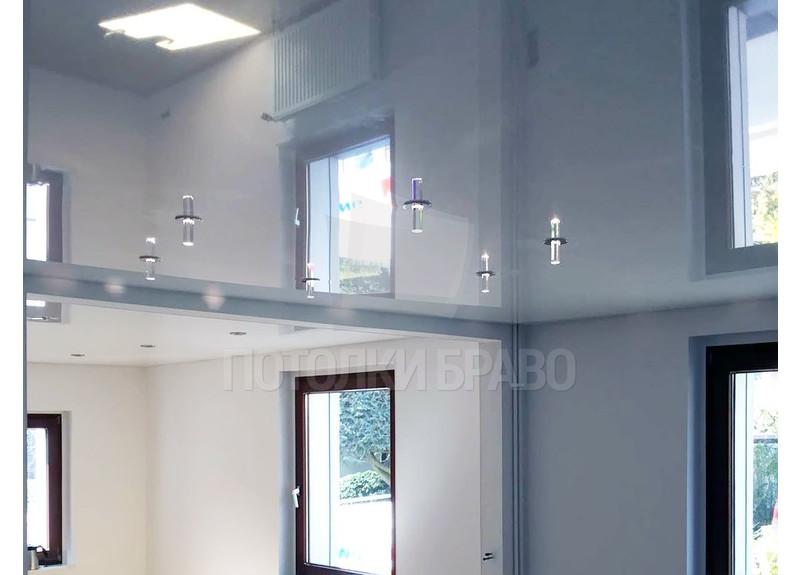 Сложный глянцевый натяжной потолок НП-236 - фото 2