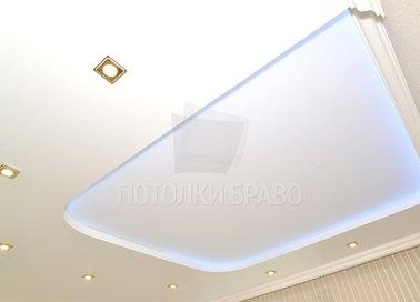 Розовый матовый натяжной потолок для жилой комнаты НП-268 - фото 2