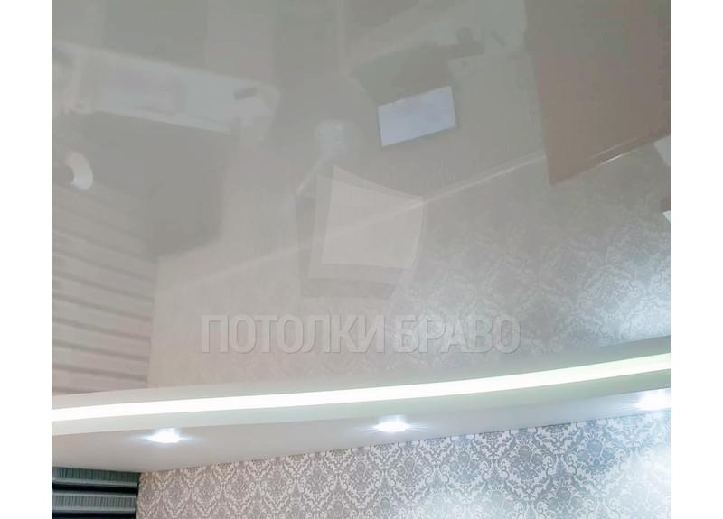 Волнообразный натяжной потолок с LED-подсветкой НП-304 - фото 2