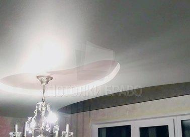 Фактурный матовый натяжной потолок для кухни НП-305