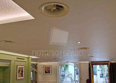 Матовый натяжной потолок под кожу НП-316 - фото 2