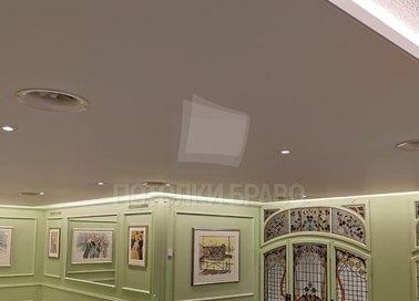 Матовый натяжной потолок под кожу НП-316 - фото 3
