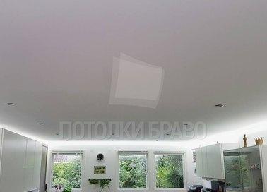 Серый матовый натяжной потолок с LED-диодами НП-323 - фото 3