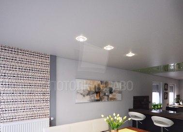 Матовый натяжной потолок для квартиры-студии НП-330