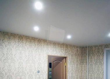 Матовый натяжной потолок цвета слоновой кости НП-337 - фото 2