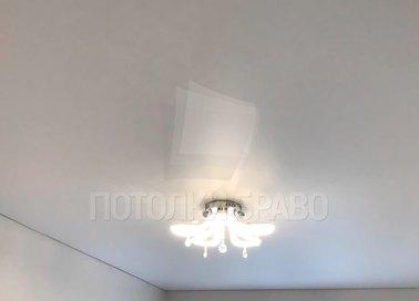 Обычный матовый натяжной потолок НП-371