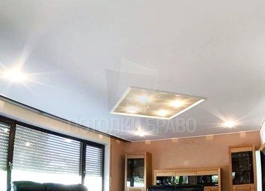 Классический матовый натяжной потолок НП-394