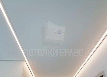 Матовый натяжной потолок в стиле Арт-деко в дом НП-412 - фото 2