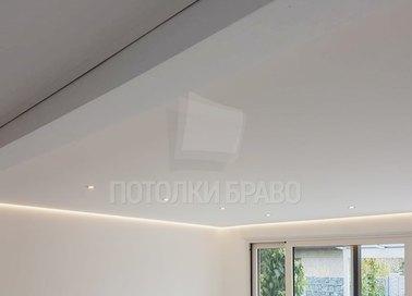 Матовый натяжной потолок в стиле Арт-деко в дом НП-412