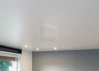 Сатиновый натяжной потолок в детскую комнату НП-417