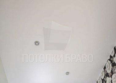 Классический сатиновый натяжной потолок НП-425