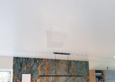 Классический серый сатиновый натяжной потолок НП-433 - фото 3