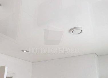Классический серый сатиновый натяжной потолок НП-433 - фото 5