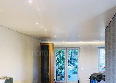 Сатиновый натяжной потолок с подсветкой по периметру НП-439 - фото 3