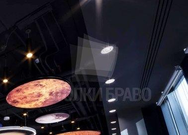 Фантастический темный натяжной потолок для холла НП-602 - фото 4