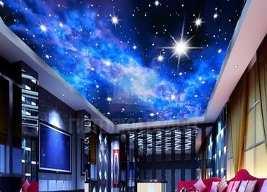Галактический матовый натяжной потолок НП-607