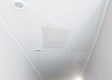Матовый натяжной потолок для узкого коридора НП-651