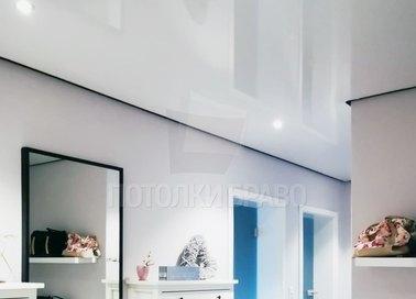 Классический натяжной потолок для коридора НП-734