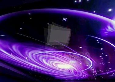 Темный галактический натяжной потолок НП-758