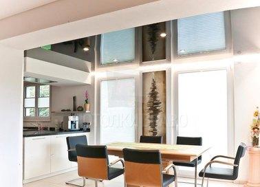 Сложный фактурный натяжной потолок для кухни НП-892 - фото 2
