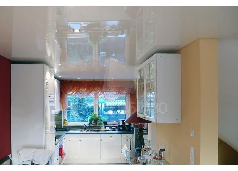 Классический натяжной потолок для квартиры НП-906