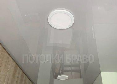 Белый натяжной потолок для кухни НП-989 - фото 2