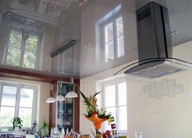 Резиновый натяжной потолок для кухни НП-995