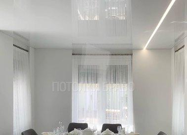 Глянцевый натяжной потолок для кухни НП-998 - фото 3