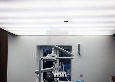 Матовый натяжной потолок для медучреждения НП-1006 - фото 2