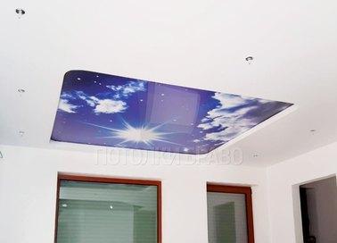 Матовый звездное небо натяжной потолок НП-1062