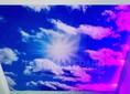 Матовый небесный натяжной потолок НП-1065 - фото 2