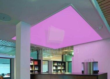 Лавандовый матовый натяжной потолок для офиса НП-1124