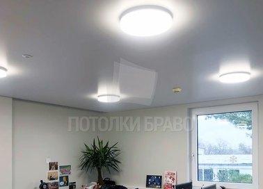 Белый матовый натяжной потолок для офиса НП-1134 - фото 4