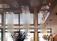 Матовый-глянцевый натяжной потолок для шикарного ресторана НП-1223 - фото 2
