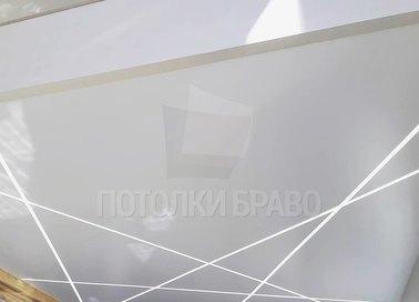 Сатиновый натяжной потолок НП-1256