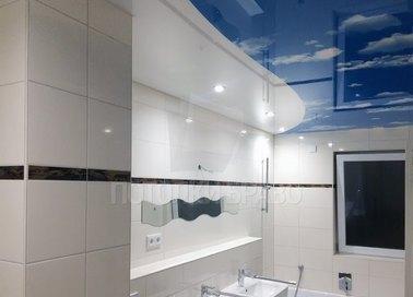 Сатиновый натяжной потолок с волной НП-1290 - фото 2