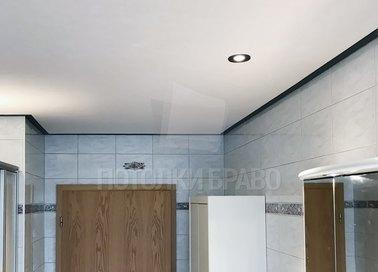 Матовый натяжной потолок под углом НП-1305 - фото 3