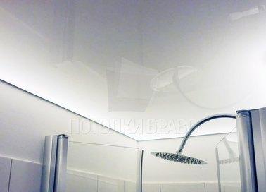 Светящийся матовый натяжной потолок НП-1402