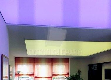 Сиреневый матовый натяжной потолок НП-1510