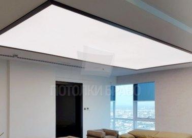 Матовый натяжной потолок для офиса НП-1514