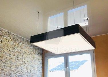 Двойной натяжной потолок НП-1520