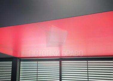 Красный матовый натяжной потолок НП-1522 - фото 2