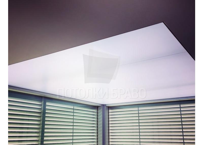 Матовый сиреневый натяжной потолок НП-1523