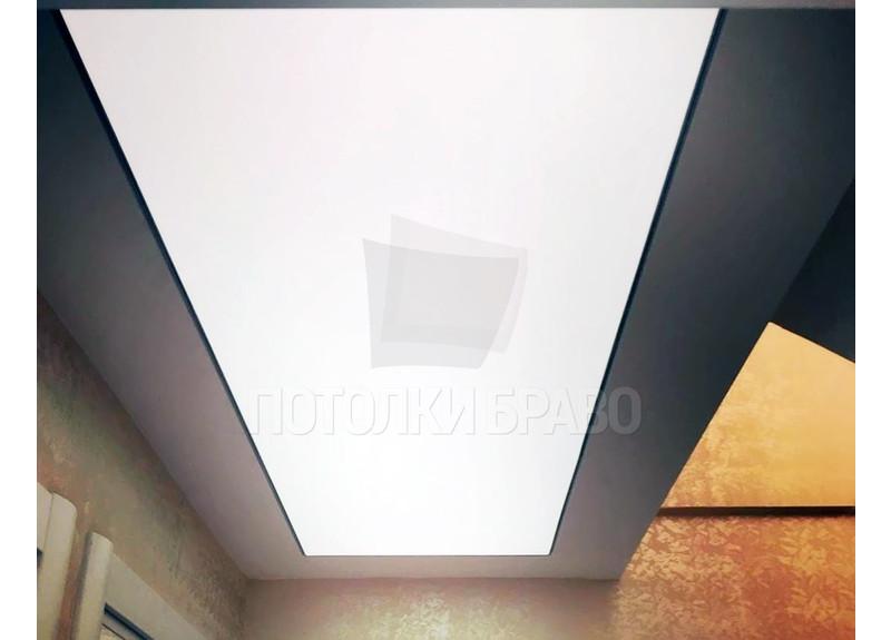 Матовый натяжной потолок для коридора НП-1543