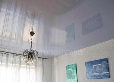 Глянцевый сиреневый натяжной потолок НП-1547