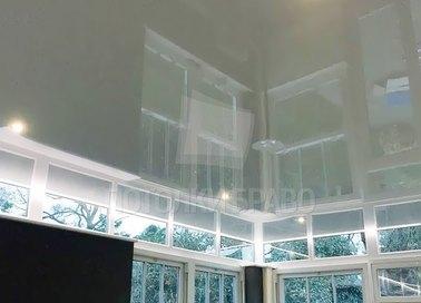 Глянцевый отражающий натяжной потолок НП-1548