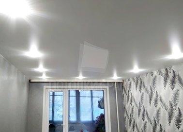 Сатиновый натяжной потолок с подсветкой НП-1562